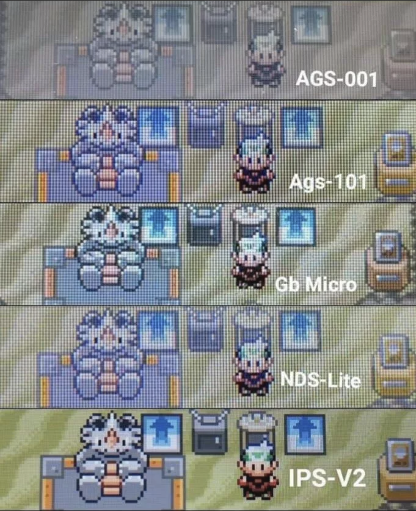 comparing AGS-001 with IPS-V2