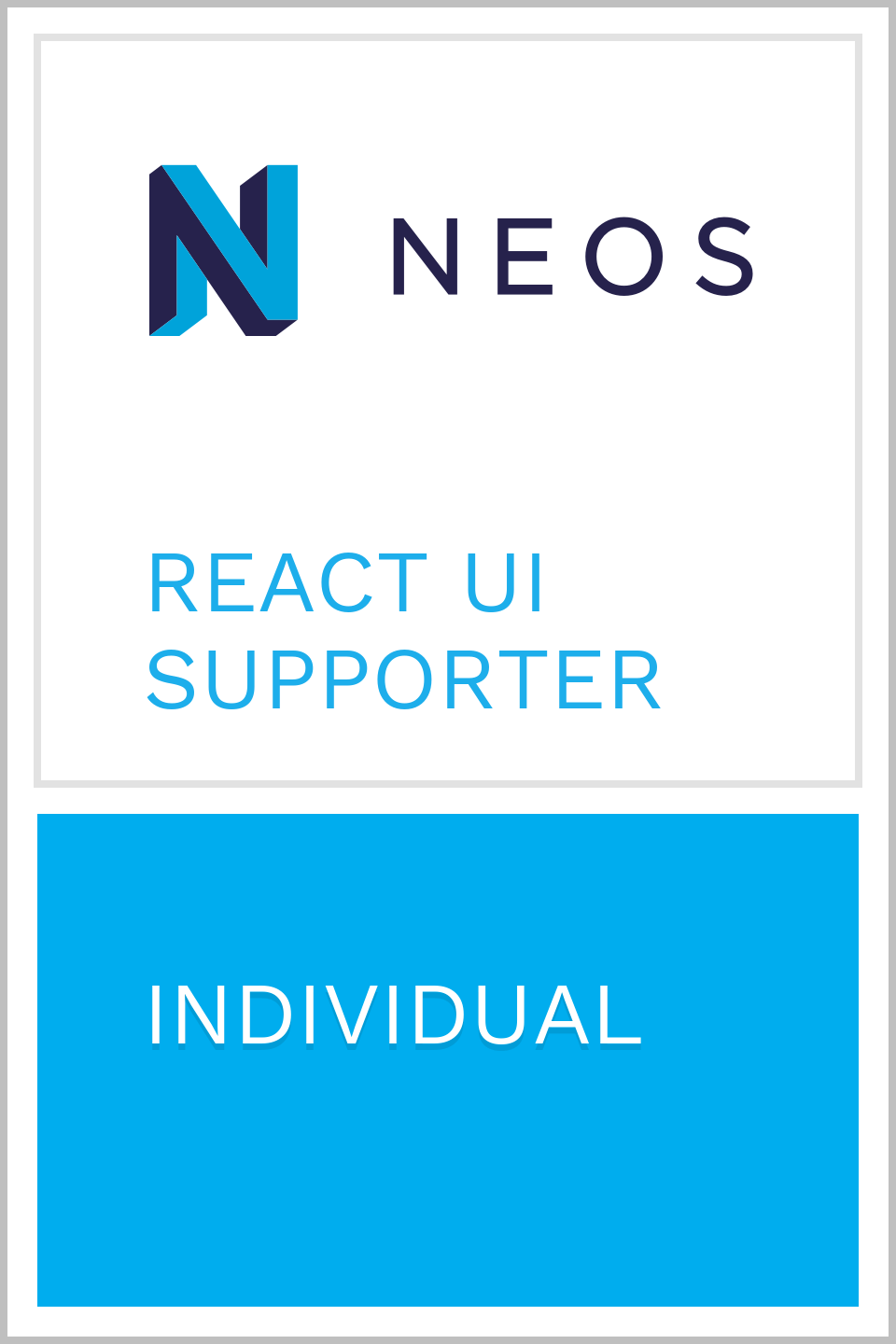 Rene Rehme - Neos Supporter Individual
